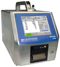 lighthouse solar 3350 particle counter used by e-bbex ltd