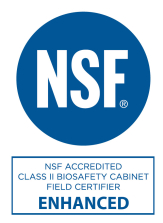 NSF 49 accredited enhanced field certifier